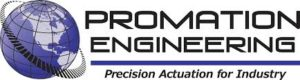 Promation Engineering - Precision Actuation for Industry Logo