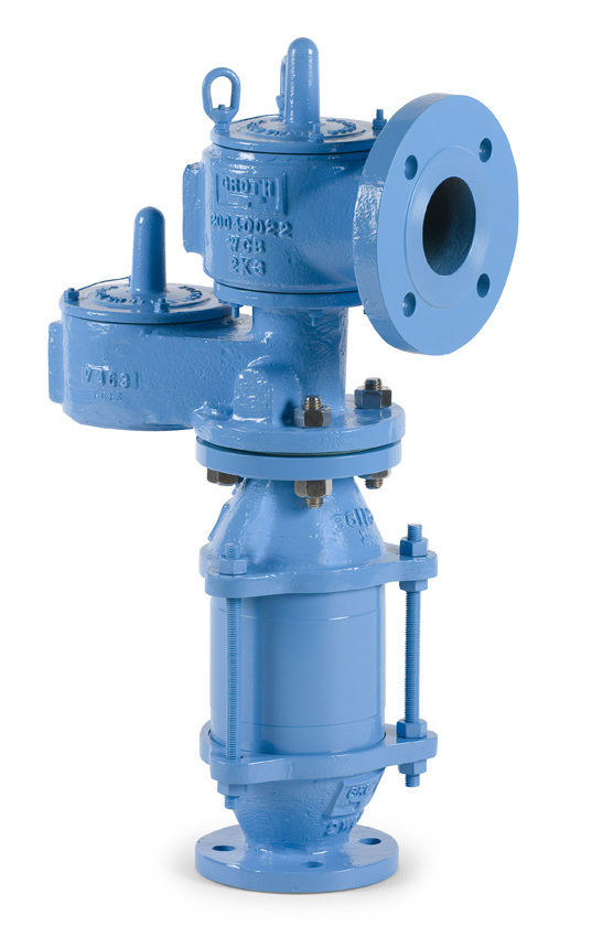 Photo of Model 8820A – Combination Relief Valves and Flame Arresters with Pipe-Away
