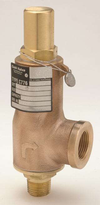 Photo of Cash Valve Type C-776 Cyrogenic Safety Valves