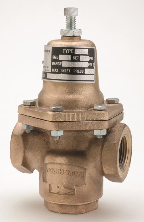 Photo of Cash Valve Type E-55 Series Industrial Pressure Regulators