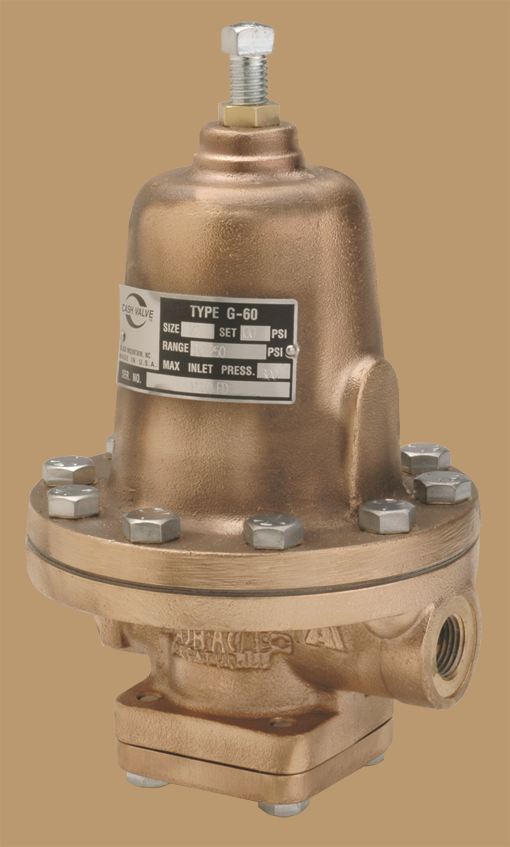 Photo of Cash Valve Type G-60 Industrial Pressure Regulator