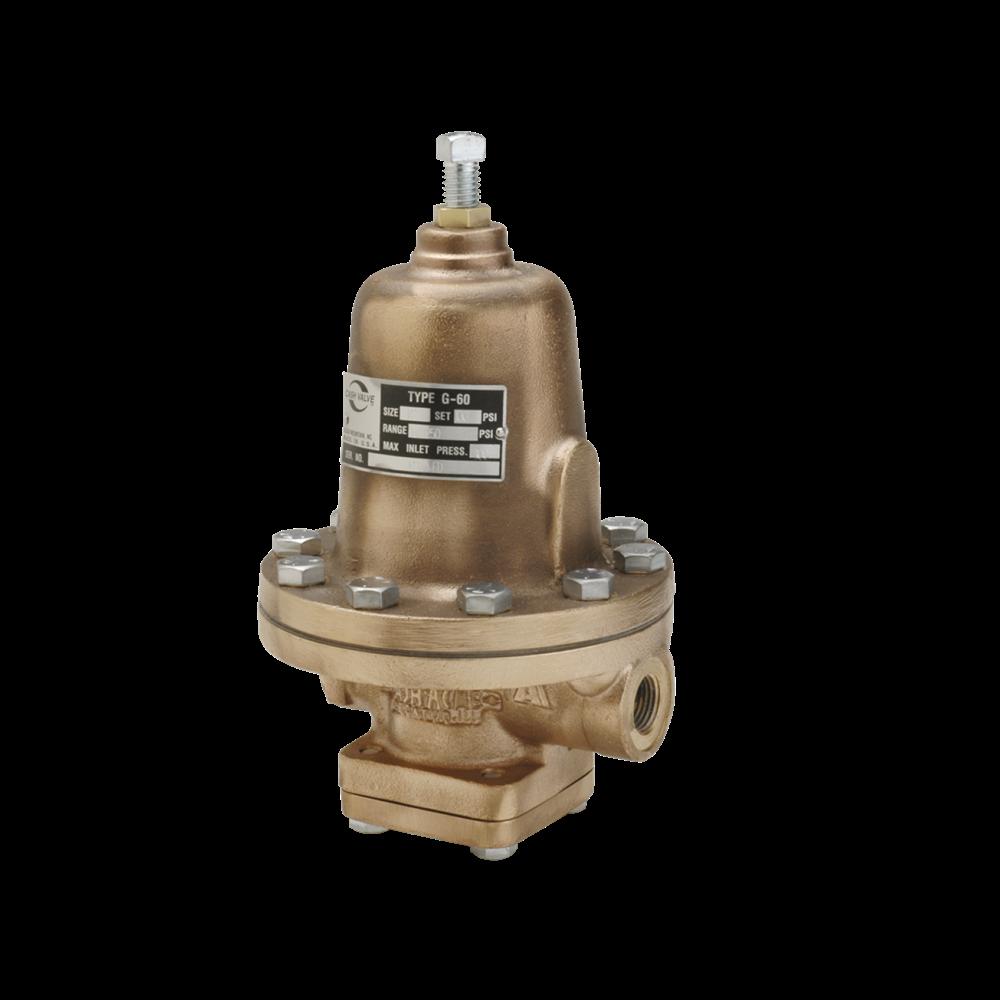 Photo of Cash Valve Types G-60, G-60 (HP) Cryogenic Pressure Regulators